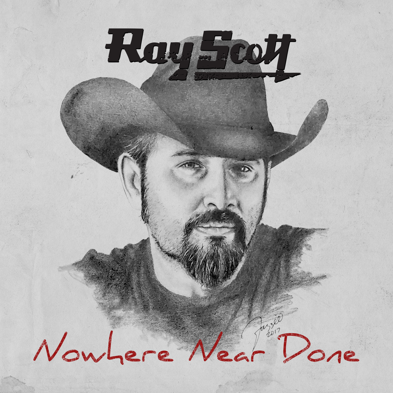 Ray Scott Nowehere Near Done EP Cover
