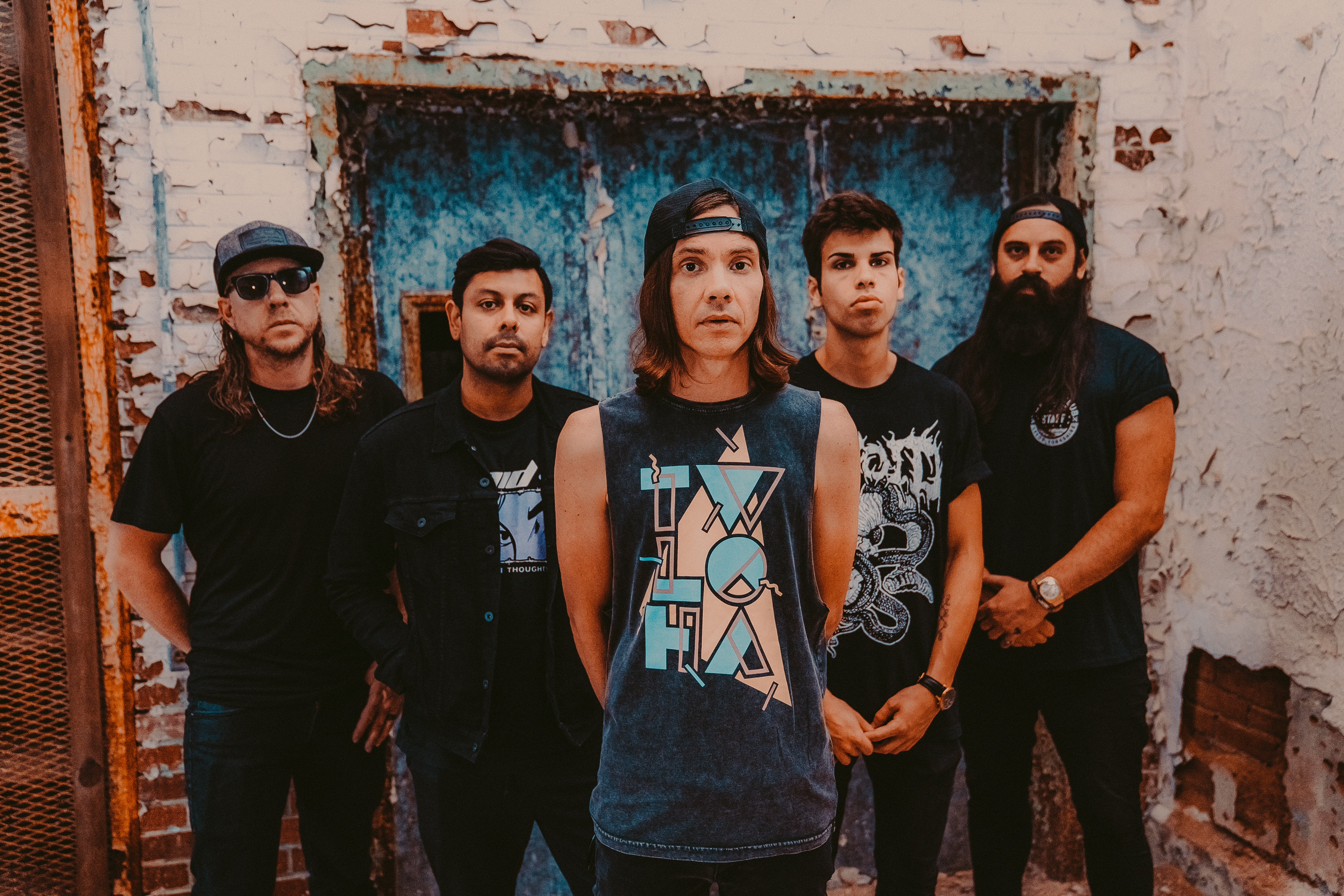 The Red Jumpsuit Apparatus – promo photo 2019 by Matt Bender
